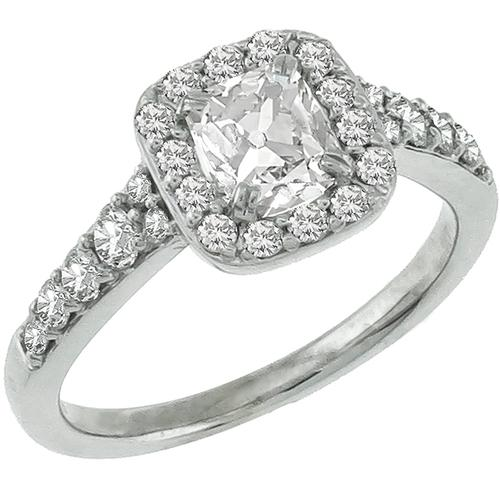 0.70ct Diamond Engagement & Wedding Band Set