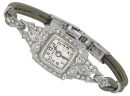 Antique 0.80ct Diamond Croton Watch photo 1