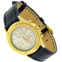 Cartier Gold Leather Watch