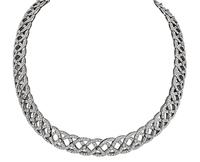 Estate 8.00ct Diamond Necklace