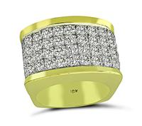 Vintage 3.40ct Diamond Gold Ring