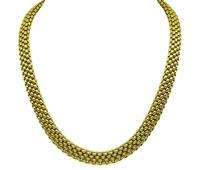 Estate Fope Gold Mesh Necklace
