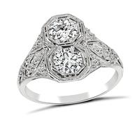 Vintage 1.11ct Diamond Ring