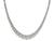 Estate 19.18ct Diamond Gold Tennis Necklace
