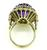 14k Gold Diamond Amethyst Ring