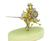 Estate Diamond Gold Don Quijote Pin / Statuette