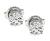 Estate GIA Certified 1.14cttw Diamond Stud Earrings
