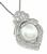 Pearl Diamond Pendant Necklace