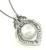18k White Gold Diamond Pearl Pendant Necklace