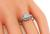 Old European Cut Diamond Platinum Art Deco Engagement Ring