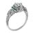 0.82ct Diamond Art Deco Engagement Ring